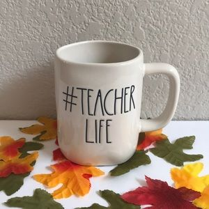 Rae Dunn #Teacher Life Mug